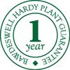 Bawdeswell Hardy Plant Guarantee logo