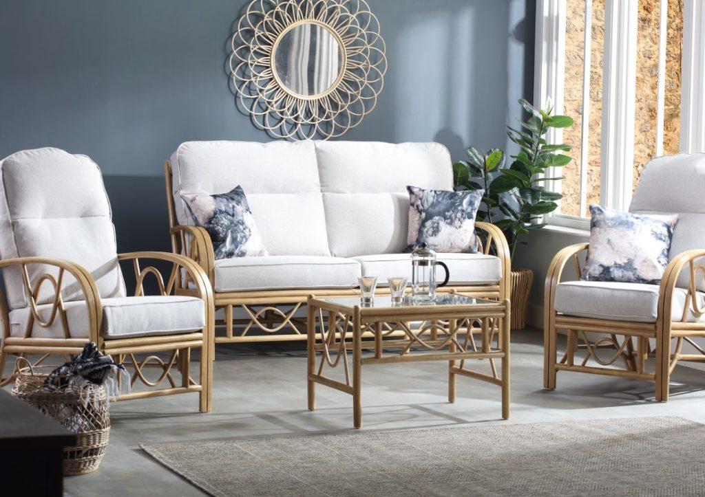 Bali Cane Furniture - Light Oak Range