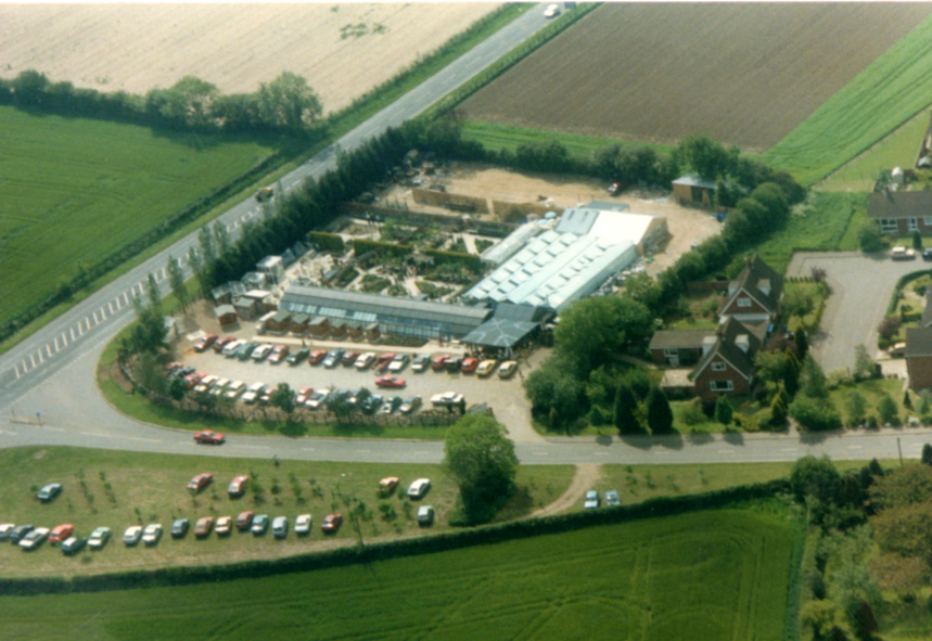 Early Arial Shot taken in the 1980's