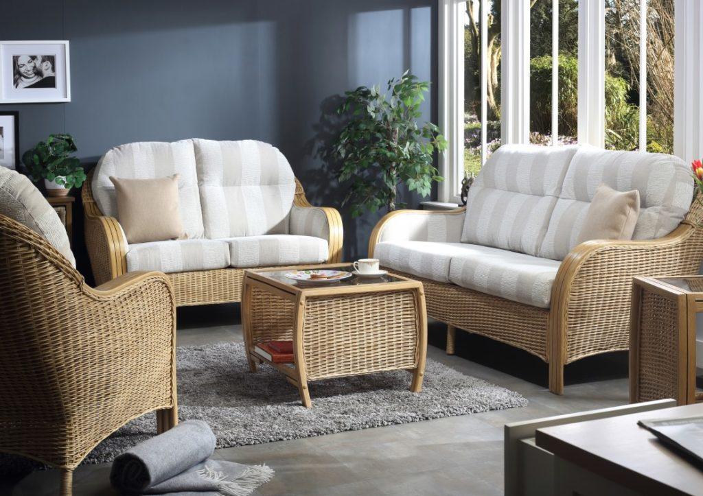 New - Centurion Cane Furniture - Light Oak Range