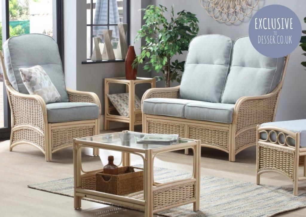 Chelsea Cane Furniture - Natural Wash Range