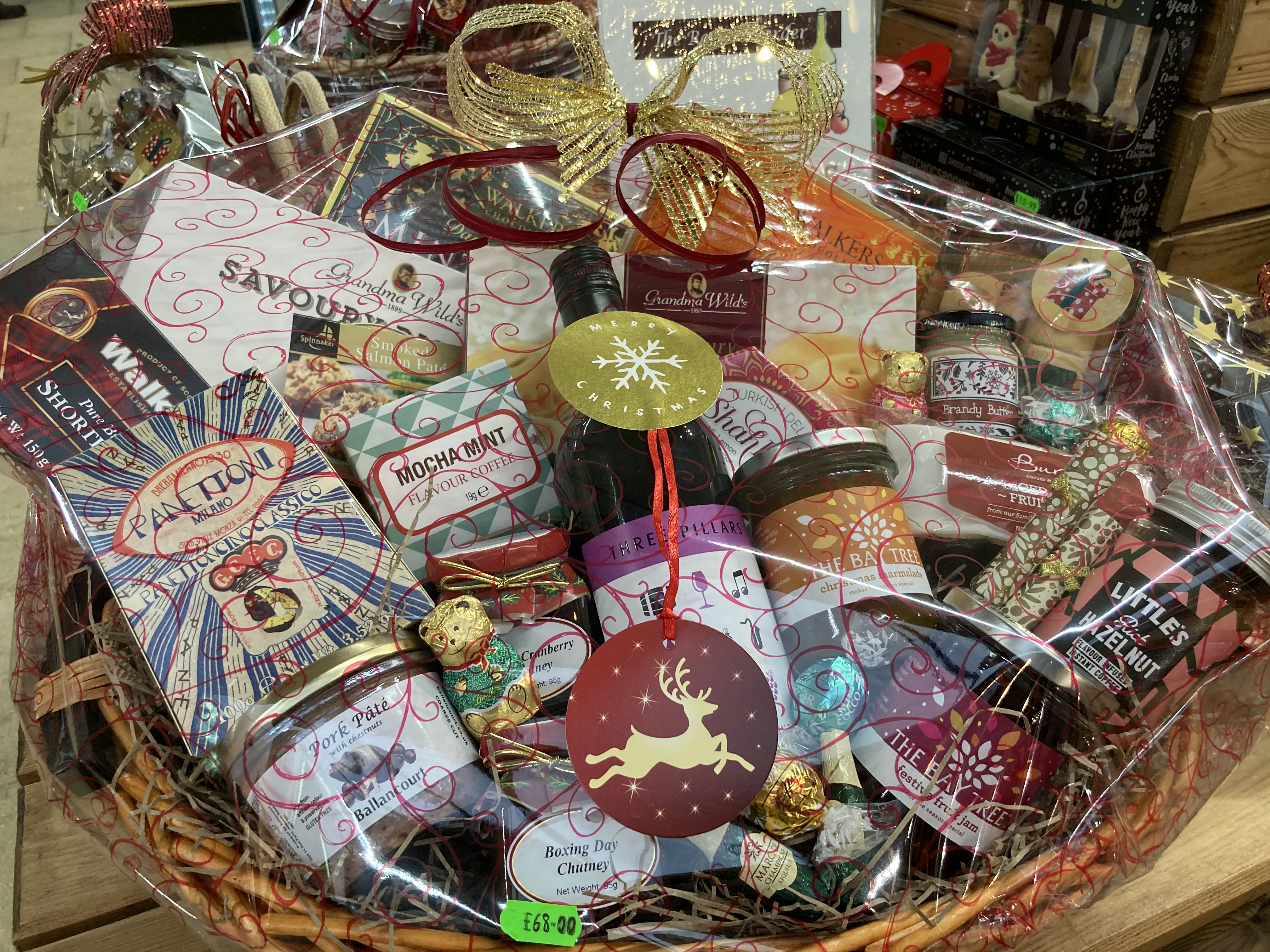 Hampers - Ready to go or made to order.