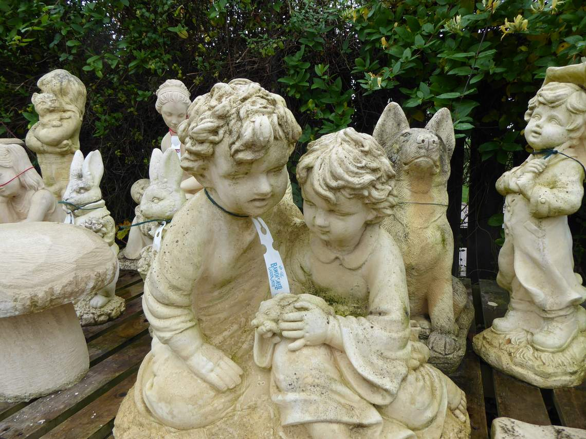 Garden Statues and Stoneware