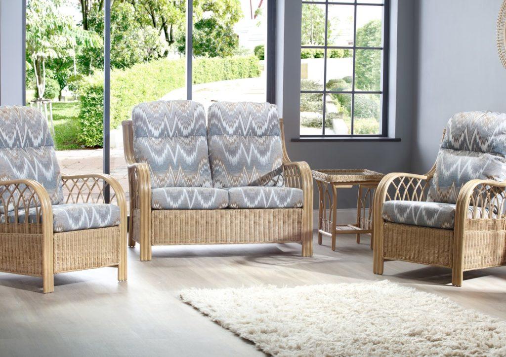 Viola Cane Furniture - Natural Wash Range