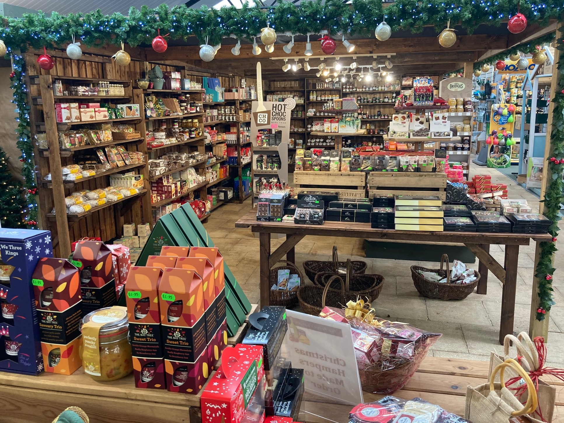 Christmas Gifts in the Food Hall