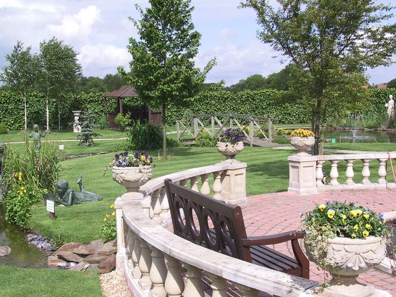 Millennium 2000 Garden Bench