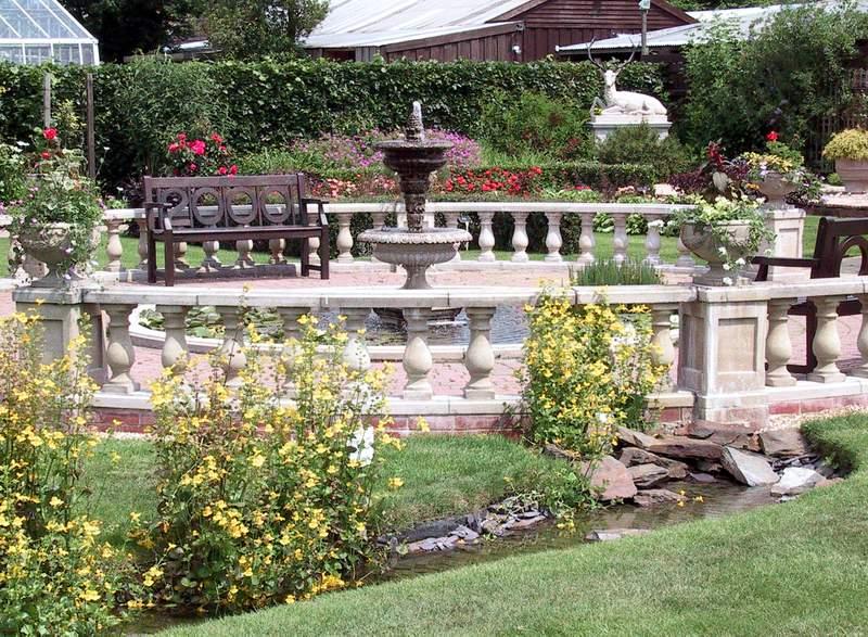 Millennium Garden Fountain