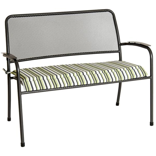 Alexander Rose Portofino Collection Bench with Cushion