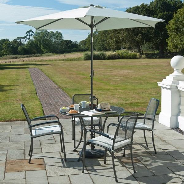 Alexander Rose Portofino Collection 4 Seat Dining Set