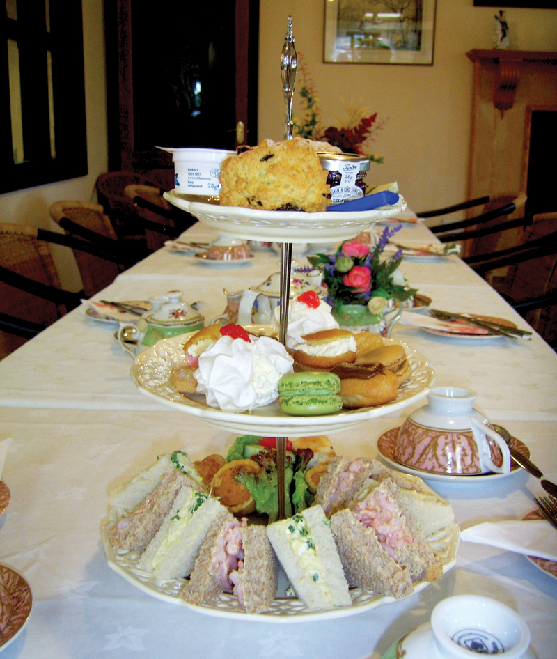 Afternoon Tea For Two at The Reeves Parlour Restaurant