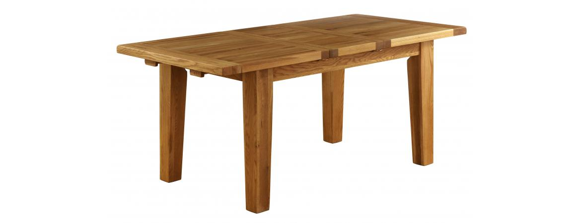 Oak Extension Dining Table 140cm - 180cm NB005