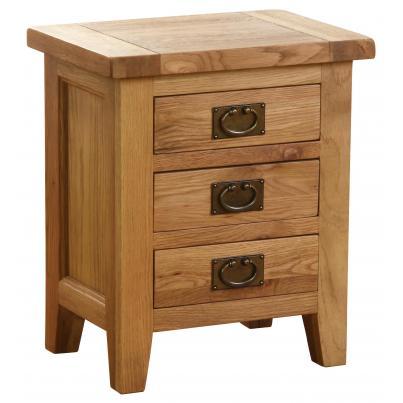 3 Drawer Bedside Table NB022
